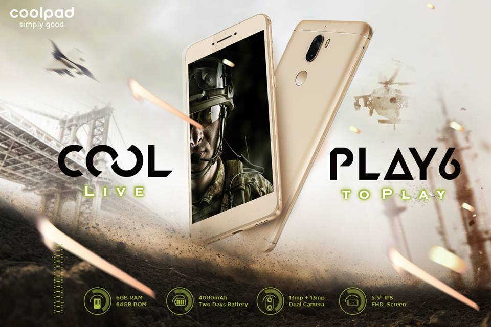 Buy Coolpad Cool Play 6 from Amazon India