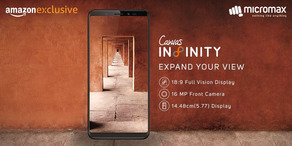 Buy Micromax Canvas Infinity from Amazon