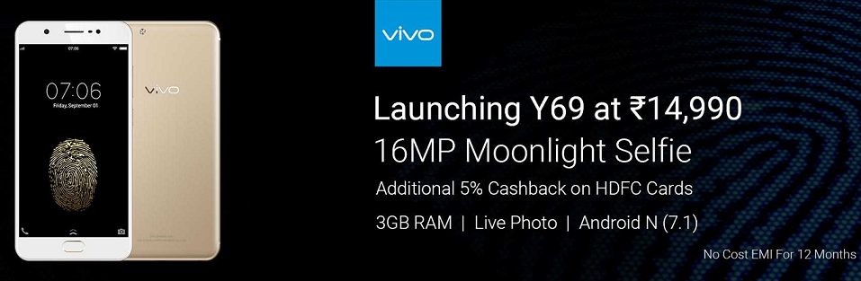 Buy Vivo Y69 for Rs.14,990