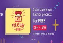 Amazon App Treasure Hunt (10 Oct) | Win Fashion Products