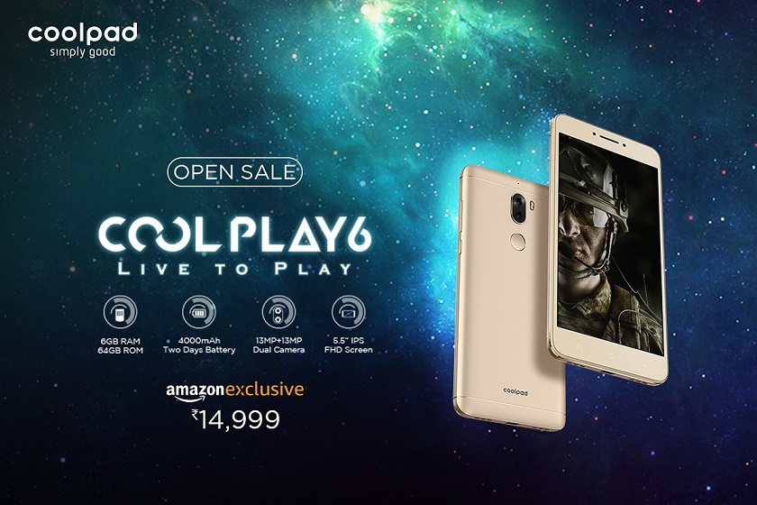 Buy Coolpad Cool Play 6 from Amazon
