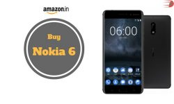 Buy Nokia 6 for Rs.14,999 from Amazon India
