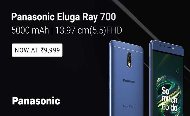Buy Panasonic Eluga Ray 700 from Flipkart
