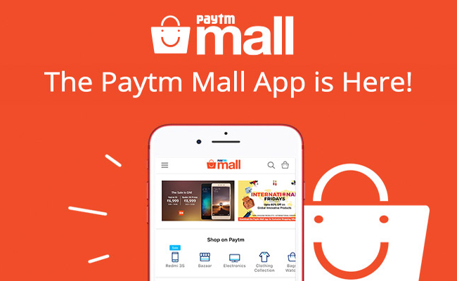 Paytm Mall App | Install and Get Rs 50 Cashback on Rs 100 Recharge