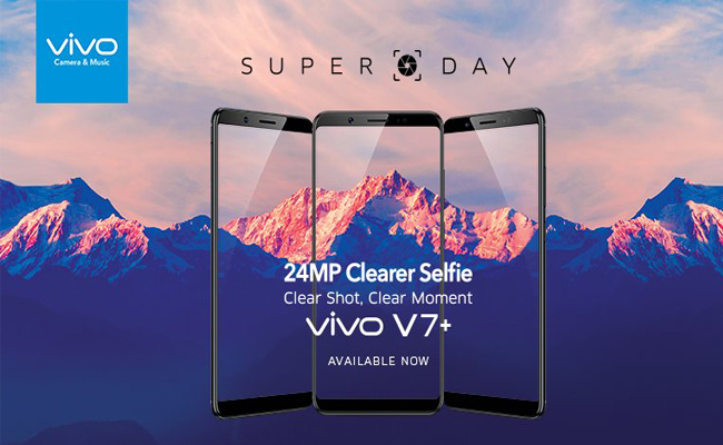 Buy Vivo V7 Plus for Rs  21,990 - FlashSaleTricks