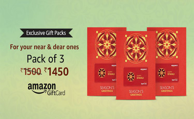 Amazon Gift Card Offers | Buy Exclusive Gift Packs