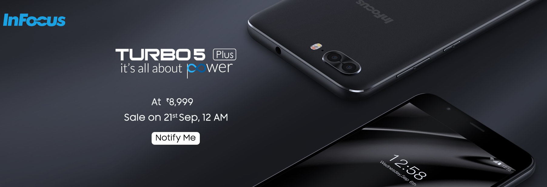 wholesale dealer 03705 3bebd Buy InFocus Turbo 5 Plus for Rs 8,999 from Amazon - FlashSaleTricks