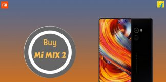 Buy Mi MIX 2 from Flipkart
