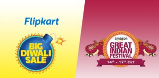 Flipkart Big Diwali Sale Vs Amazon Great Indian Festival