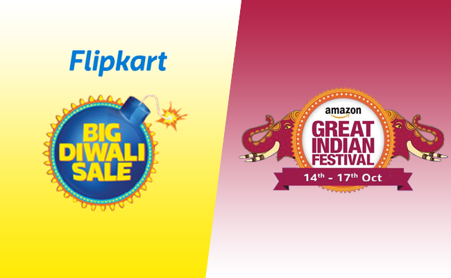 Flipkart Big Diwali Sale Vs Amazon Great Indian Festival