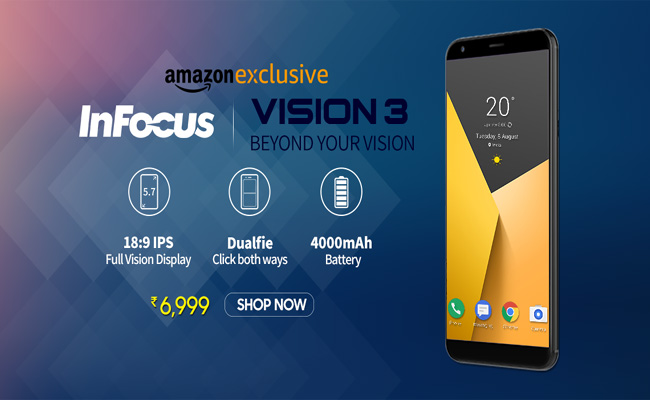 the best attitude e026f db205 Buy InFocus Vision 3 for Rs. 6,999 from Amazon India - FlashSaleTricks