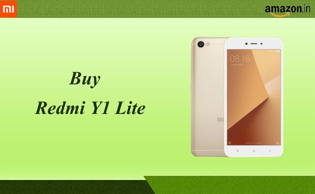 8a8811415 Buy Xiaomi Redmi Y1 Lite for Rs.6