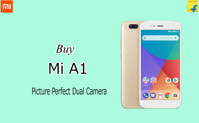 Buy Mi A1 from Flipkart