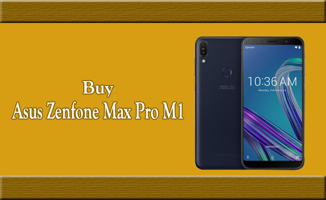 Buy Asus Zenfone Max Pro M1 from Rs  10,999 on Flipkart