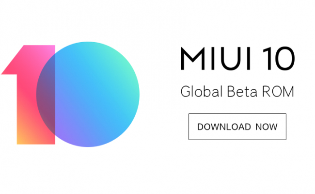 MIUI 10 Global Beta ROM Download links - FlashSaleTricks