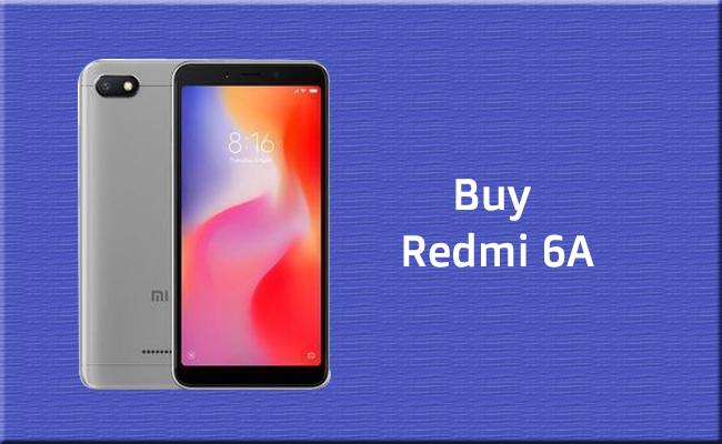 Redmi 6A Mobile