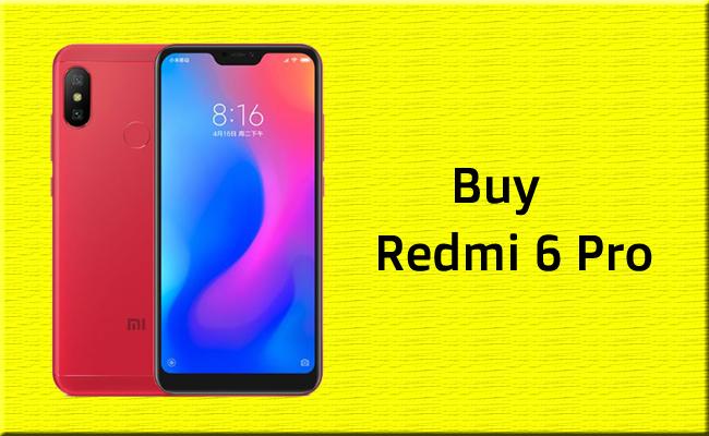 Redmi 6 Pro Mobile