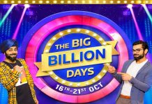 Flipkart The Big Billion Days (16-21 Oct) | 10% Instant Discount on SBI Cards & EMI