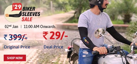 Droom Biker Sleeves Sale