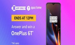 Amazon Quiz Time 27 March 2019   Answer & Win OnePlus 6T