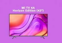 How to buy Mi TV 4A Horizon Edition 43-Inch from Amazon