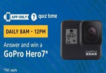 Amazon Quiz Time 25 June 2019 | Answer & Win GoPro Hero7