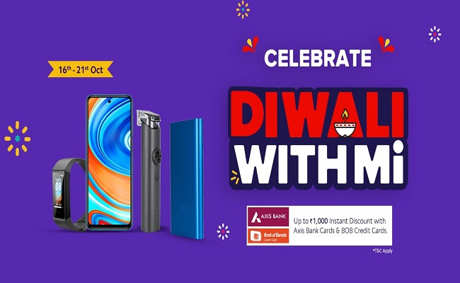 Diwali with Mi | ₹1 Flash Sale | Crazy Deals | Offers on Redmi Phones & Mi Accessories