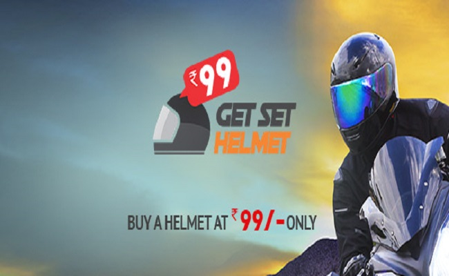 How to buy Helmet for Rs 99 from Droom