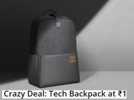 Realme Holi Days   Get Realme Tech Backback at Re.1