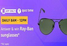 Amazon Quiz Time 25 Sept 2020 | Answer & Win Ray-Ban Sunglasses