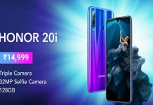 How to buy Honor 20i from Flipkart