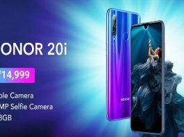 How to buy Honor 20i from Flipkart
