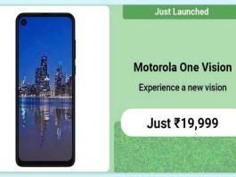 How to buy Motorola One Vision from Flipkart