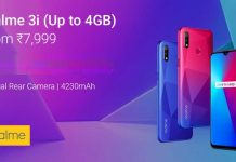 How to buy realme 3i from Flipkart