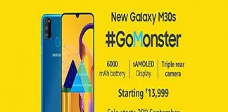 How to buy Samsung Galaxy M30s from Amazon India