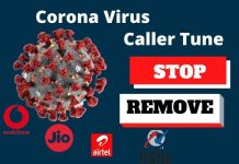 How to Stop or Remove Corona Virus Caller Tune