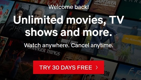 Get NetFlix Premium Subscription for Free