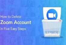 How to Delete / Terminate my Zoom Account