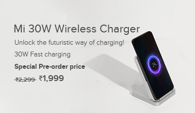 How to buy Xiaomi Mi 30W Wireless Charger from mi.com