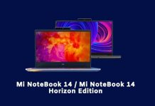 How to buy Mi NoteBook 14 / Mi NoteBook 14 Horizon Edition from Amazon