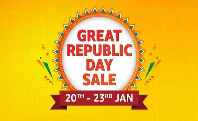 Amazon Great Republic Day Sale (20-23 Jan) | 10% Off on SBI Credit Card