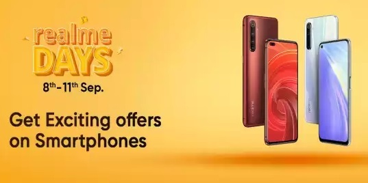 Realme Days (8-11 Sept) | Exciting Offers | Crazy Deals on realme Smartphones & Accessories