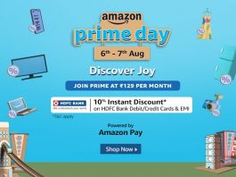 Amazon Prime Day 2020 | 10% Instant Discount on HDFC Banks Cards & EMI