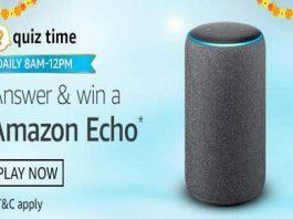 Amazon Quiz Time 20 Oct 2020 | Answer & Win a Amazon Echo