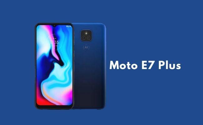 How to buy Moto E7 Plus from Flipkart