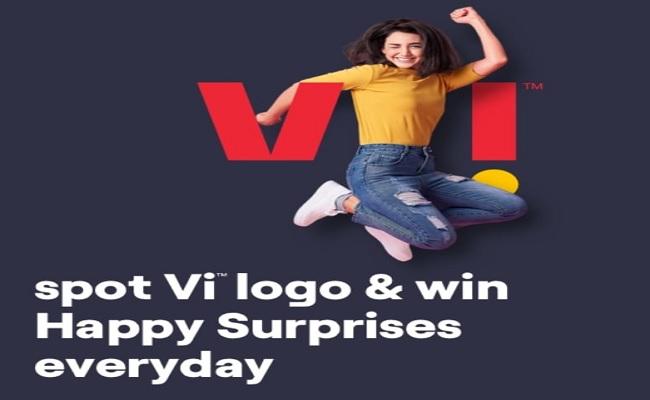Vi App Loot | Spot Vi Logo & Win Free Surprise Prizes