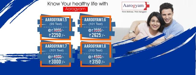 Thyrocare Aarogyam Test Packages | Aarogyam 1.5-1.8