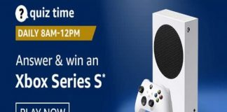 Amazon Quiz Time 24 Nov 2020 | Win an Xbox Series S