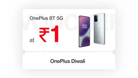 OnePlus Diwali ₹1 Flash sale | Grab OnePlus 8T for ₹1