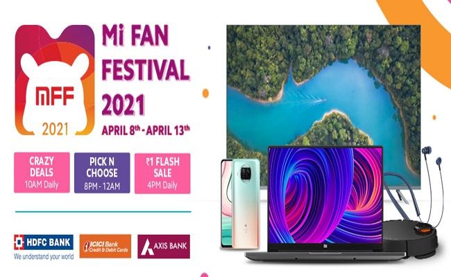 Mi Fan Festival (8th-13th Apr) | ₹1 Flash Sale | Crazy Deals | Smart Deals | Pick N Choose
